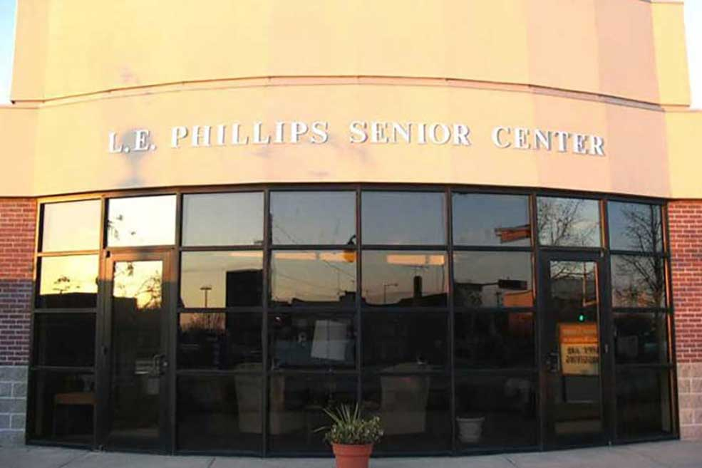 Welcome to the L.E. Phillips Senior Center
