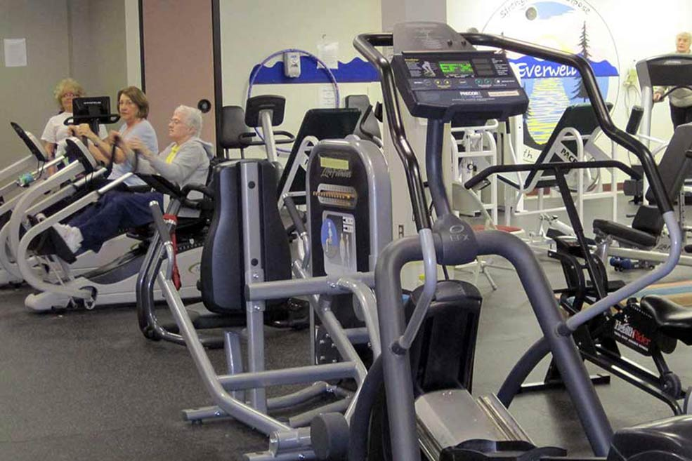 Check out our fitness facilities